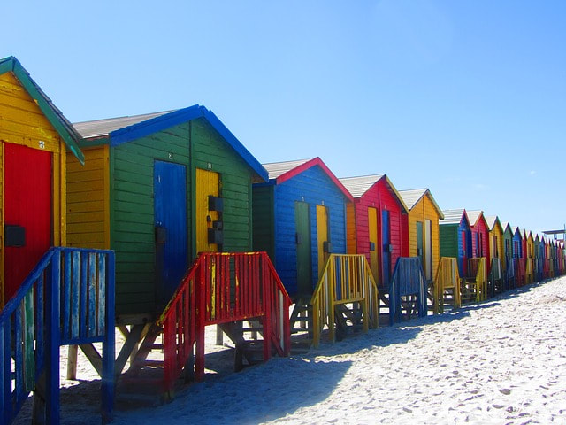 Cape Town  car hire: Beach Huts