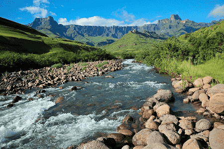 Drakensberg Mountains, The Zulu Kingdom, South Africa
